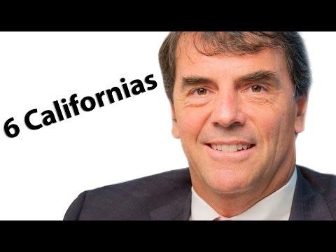 Tim Draper on 6 Californias