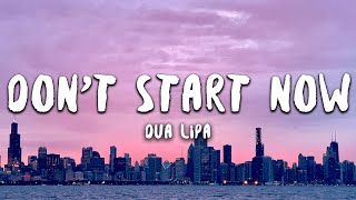 Download Mp3 Dua Lipa - Don't Start Now  Lyrics