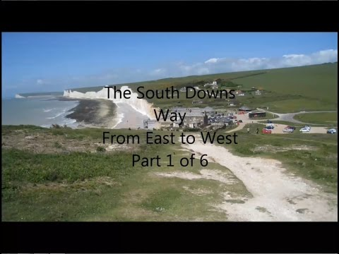 South Downs Way, East To West, Part 1 Of 6 - Eastbourne To Alfriston