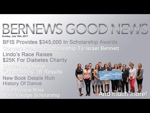 "Bernews ""Good News"" Sunday Spotlight, July 16, 2017"
