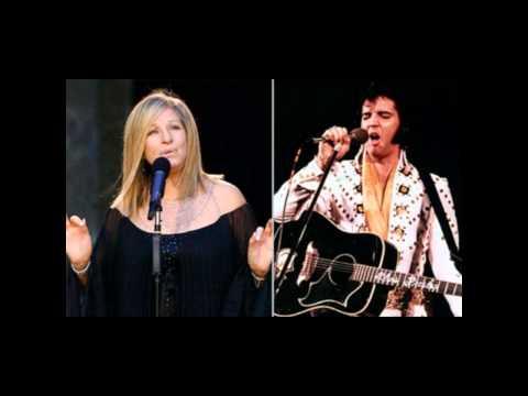 Barbra Streisand and Elvis Presley Sing 'Love Me Tender'
