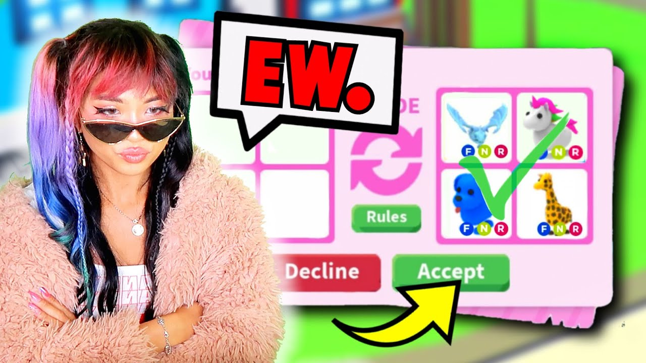 Download *ACTUALLY WORKED* Becoming a SPOILED BRAT for FREE PETS! Adopt Me Roblox Prank on Crush Baby Scam
