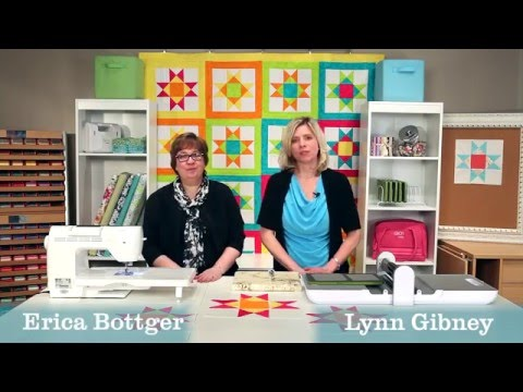 Learn How to Quilt the GO! Vibrant Ohio Star Quilt