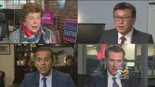 California Primary: Campaigning Down To The Wire