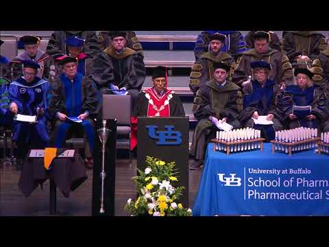 2018 UB School of Pharmacy and Pharmaceutical Sciences Commencement PT 1 of 3