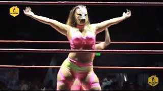 Lady Shani y La Hiedra vs Lady Apache y Chik Tormenta, AAA vs Elite en Tijuana