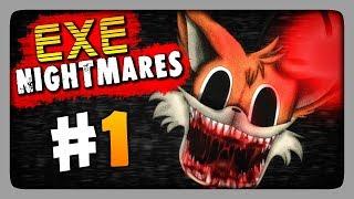 Обложка EXE Nightmares DEMO Прохождение 1 Ночь 1 SONIC EXE