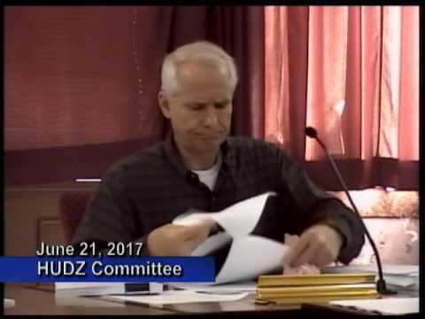 Housing, Urban Development and Zoning Committee - June 21, 2017