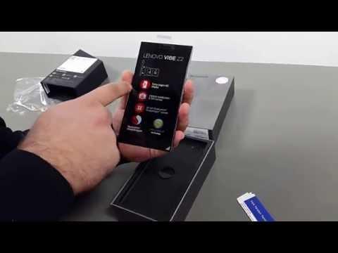 Lenovo Vibe Z2 Kutudan Çıkıyor