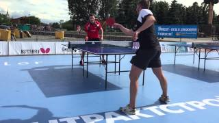 Настольный теннис, 64 ракетка мира Алексей Ливенцов 31.05.2015