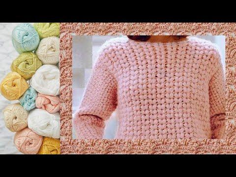 Вязать крючком свитер