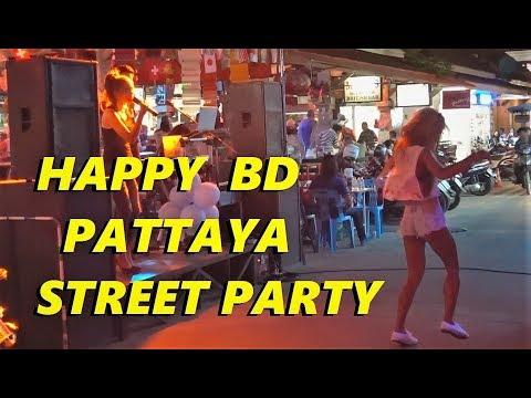 STREET PARTY PATTAYA THAILAND – SOI NEW PLAZA