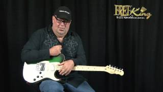 Fret King Black Label Country Squire Semitone Special - Matt Smith Interview