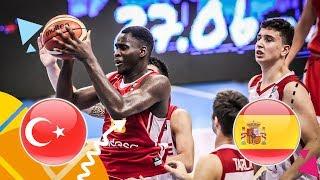 LIVE 🔴 -  Turkey v Spain - Semi-Final - FIBA U16 European Championship 2018