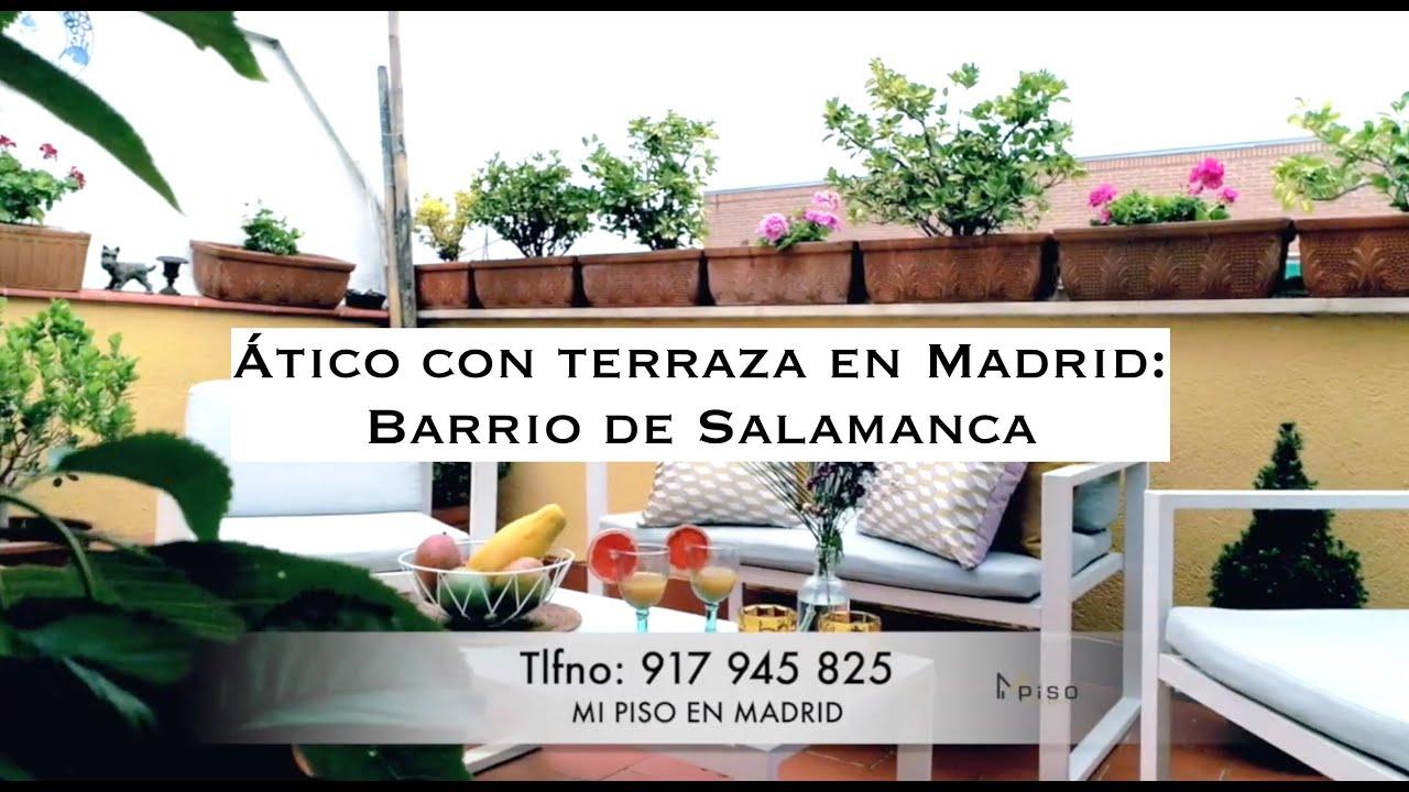 ático Con Terraza En El Barrio De Salamanca