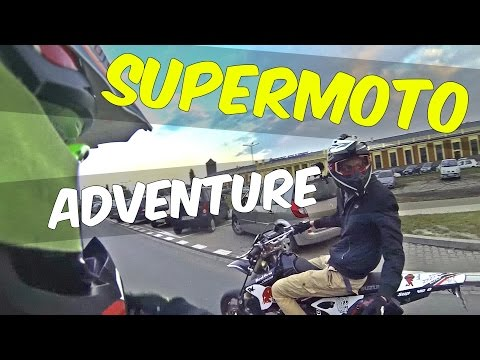 SUPERMOTO ADVENTURE WSR - SMK EXC 450 DRZ 400