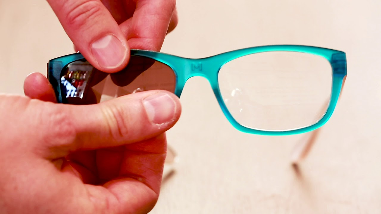 f0a99dfd416 HOW TO  Swap lenses in your Dresden glasses frames - YouTube