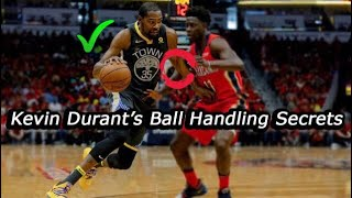 Breaking Down Kevin Durant's CRAZY Ball Handling Skills | JP Productions