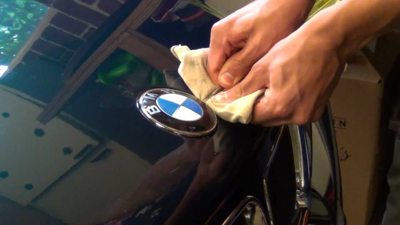 Bmw Roundel Emblem Badge Replacement How To Youtube