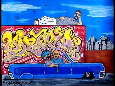 Please check my big Sketch Book of art graffiti & chicano art & characters