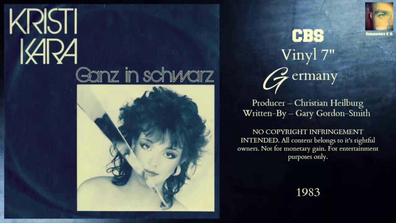 Kristi Kara – Ganz In Schwarz (1983 My Favorite Collection)