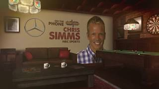 NBC Sports' Chris Simms Talks NFL Trades, DJ Durkin & More w/Dan Patrick | Full Interview | 10/31/18