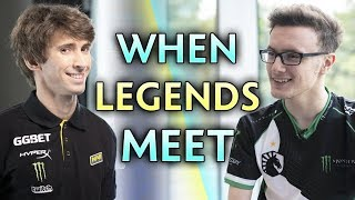 DENDI met MIRACLE on stream — guess who Miracle picked
