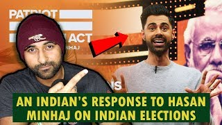 An Indian's Respone To Hasan Minhaj's Video On Indian Elections thumbnail