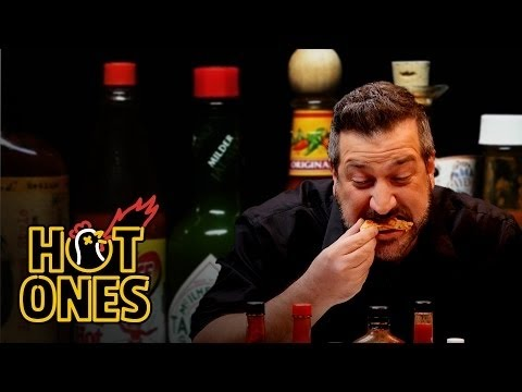 Joey Fatone Talks *NSYNC, DJ Khaled, and Guy Fieri While Eating Spicy Wings | Hot Ones