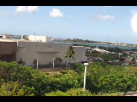 Pearlridge Shopping Center, Monorail Ride, Pearl City, Oahu, Hawaii