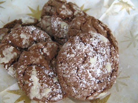 Weihnachts-Bäckerei✰Folge4✰Weiche Schokoladen-Cookies (Soft Chocolate Cookies)