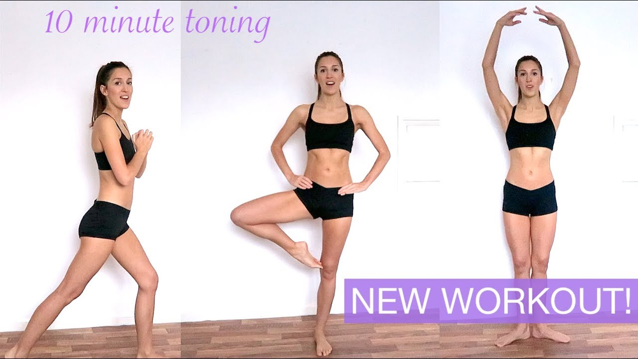 NO EQUIPMENT WORKOUT ROUTINE 2019 - Dance Inspired + Exercises for Turnout!  | natalie danza