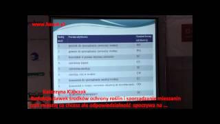 Redukcja dawek środków ochrony roślin i sporządzanie mieszanin    Katarzyna Kupczak