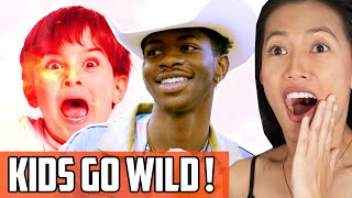 Lil Nas X - Old Town Road Surprise Reaction | He Shows Up At An Elementary School Talent Show!