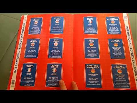 SKY SOCCER STORE | FIFA WORLD CUP 2010 | OFFICIAL INTERNATIONAL LEGENDS BINDER