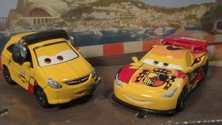Disney Cars 2 Miguel Camino, Petro Cartalina, Movie Moments