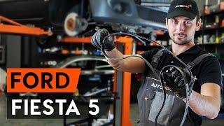 Ako vymeniť ozubený klinový remeň na FORD FIESTA 5 (MK6) [NÁVOD AUTODOC]