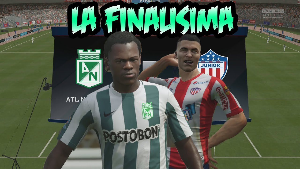 FIFA 16 - Junior vs Atletico Nacional Le Grand Finale contra YESCAR - YouTube