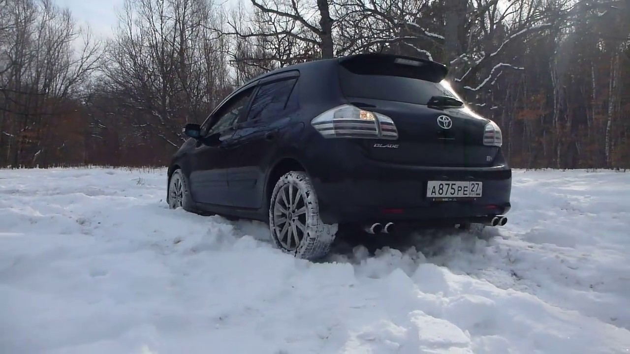snow front wheel drive toyota blade 2 4 g youtube. Black Bedroom Furniture Sets. Home Design Ideas