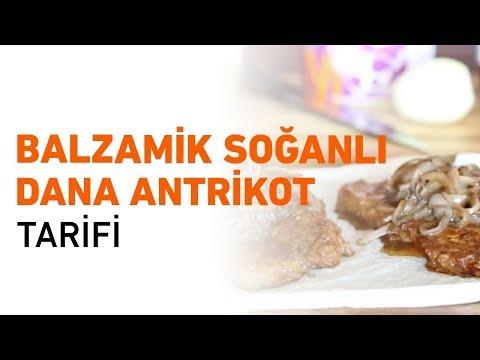 Balzamik Soğanlı Dana Antrikot Tarifi