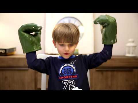 Eating Hulk Challenge Fun