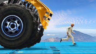 WORLD'S STRONGEST VEHICLE vs. HUMAN (GTA 5 Funny Moments)