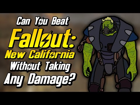 Can You Beat Fallout: New California Without Taking Any Damage?