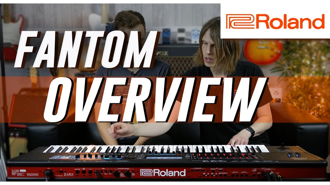 Top 5 Reasons to Buy the NEW Roland Fantom! | Overview
