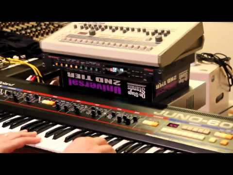 Simple Trance with hardware (Juno-60)