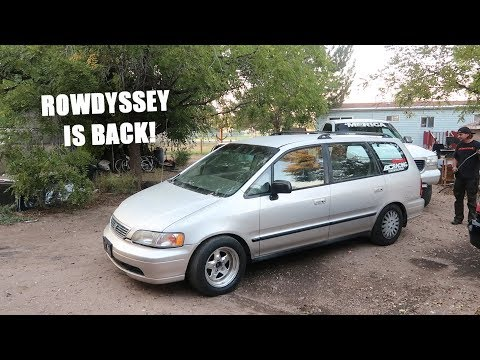 700HP Minivan Comes Back to Life!