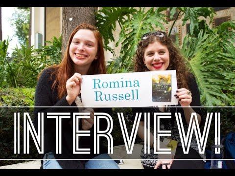 Romina Russell Interview | LA Times Book Fair