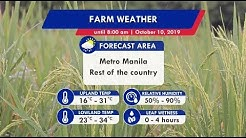 Panahon.TV | October 10, 2019, 5:00AM (Part 4)