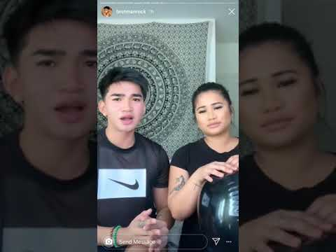 Bretman Rock And Princess Mae responding to Nikita Dragun for being rude to her thumbnail