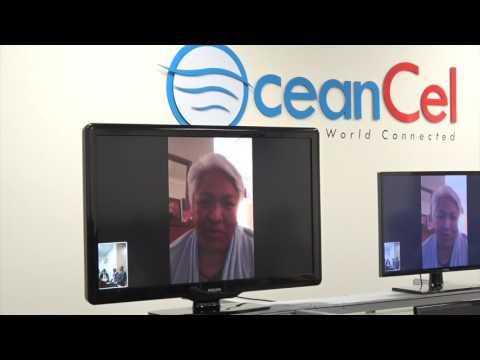 HRH Princess Siu'ilkutapu congratulating OceanCel Grand Opening Live Online